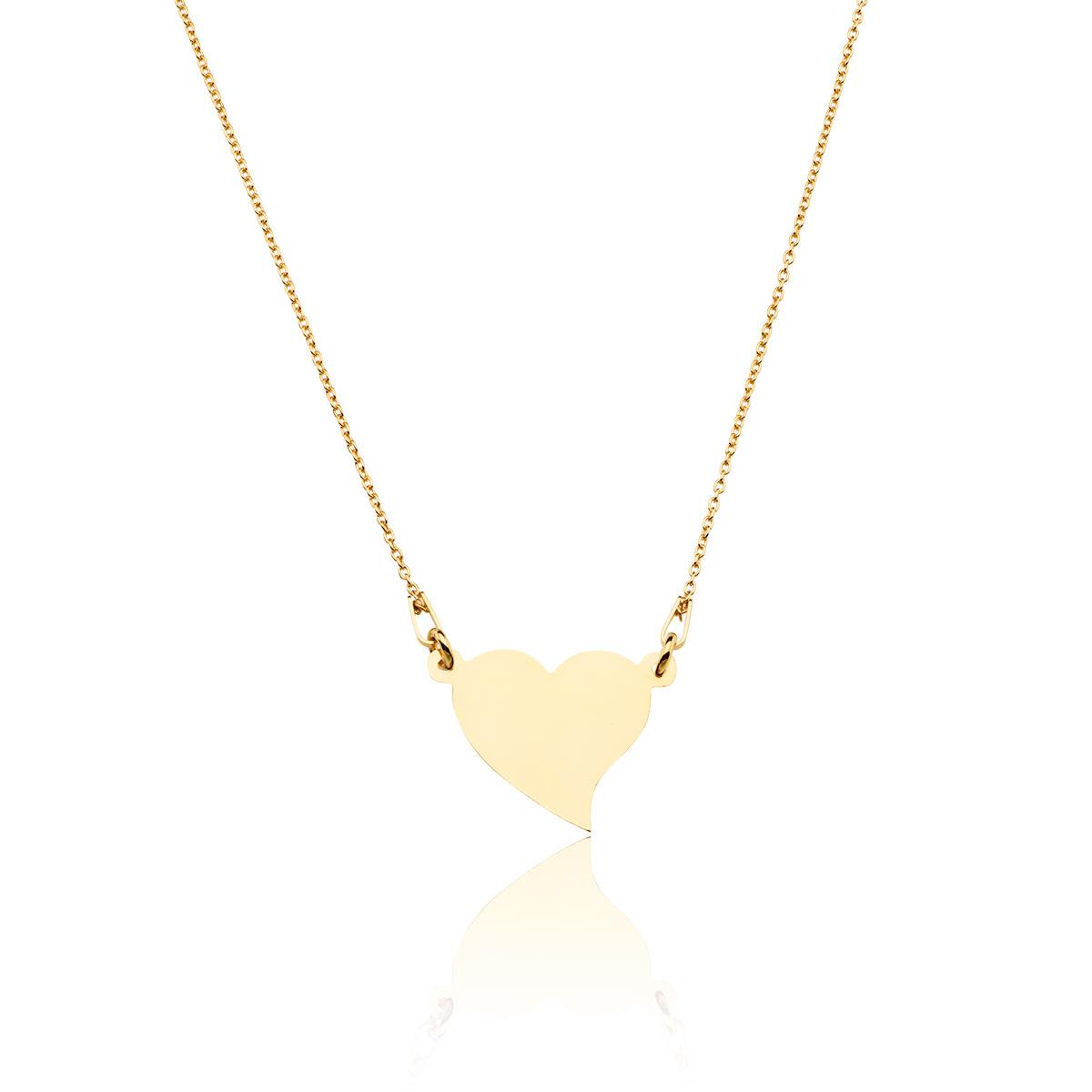 e0bb8ba77a5f0a Modna biżuteria - Celebrytka , naszyjnik z serduszkiem