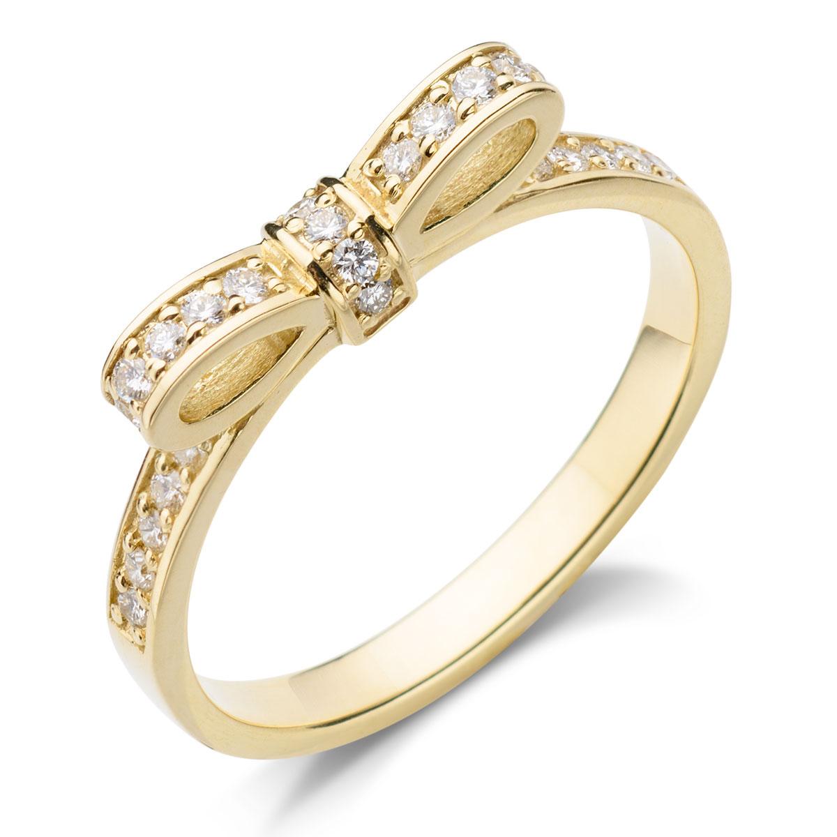 c1dde0410425fd Oryginalny i nowoczesny wzór, złota , diamentowa kokarda ...